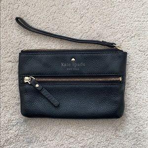 Kate Spade mini wristlet/wallet